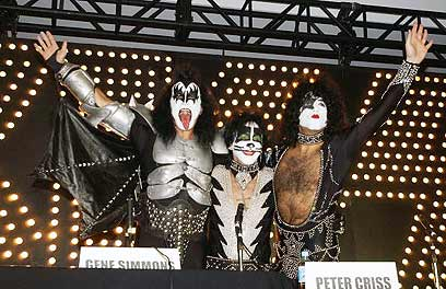 Kiss. 'We have just begun to rock' (Photo: Gettyimages)