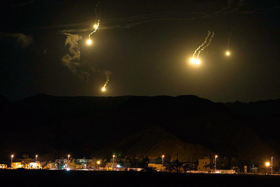 Security forces up alert level in Eilat area (Photo: Reuters)