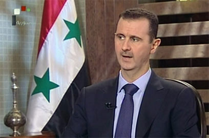 Assad: We are able to deal with uprising (Photo: AFP)