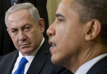 Obama and Netanyahu. 'Never has Israeli foolishness become such a destructive factor in the relationship between the two countries' (Photo: AFP)