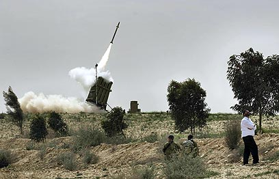Iron Dome in action (Archive photo: AFP)