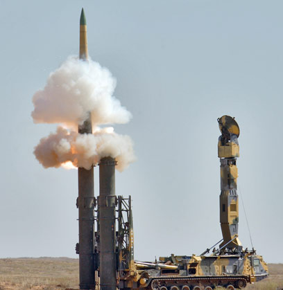 S-300 missiles (Photo: AFP)
