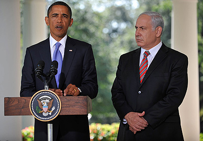 Netanyahu and Obama. It's not just a credibility crisis, it's the end of the road (Archive photo: AFP)