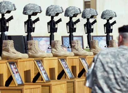 Memorial service for Fort Hood victims (Photo: AP)