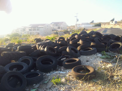 Tires delivered to Ulpana