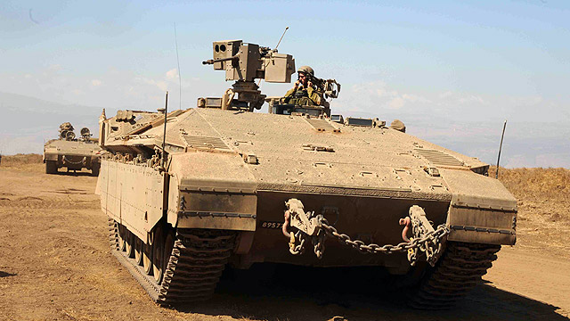 The Namer APC. Better shielded, but heavier, slower, and more expensive. (Photo: Avihu Shapira)