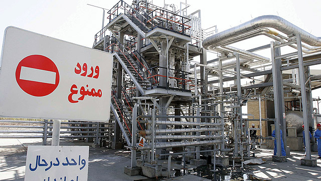 Heavy-water nuclear reactor in Iran (Photo: Getty Images) (Photo: Getty Images)