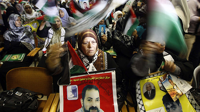 In 2012, Palestinians marked the anniversary of the Shalit prisoner swap. (Photo: AFP)