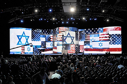 AIPAC conference. There is no 'Jewish power' because the Jews don't have a unified stance (Archive photo: AFP)