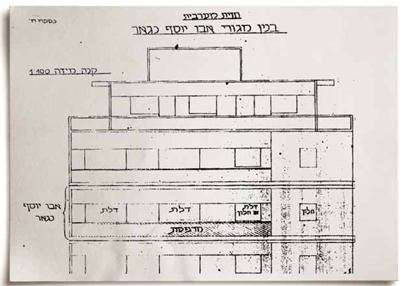The blueprints to Abu Yusuf's apartment in Beirut
