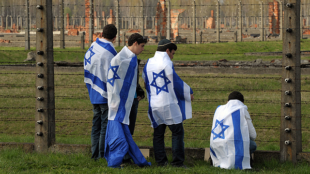 March of the Living. Tackling the tendency to forget the Holocaust now and in the future (Archive photo: AFP)