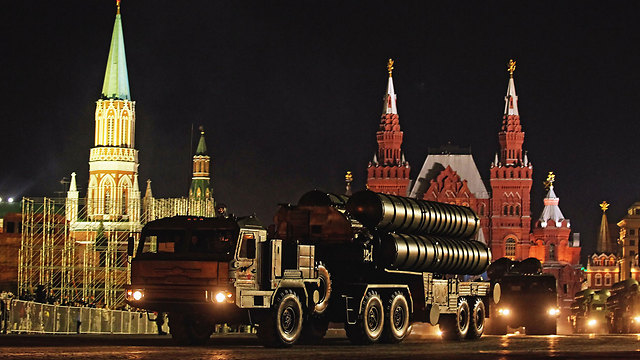 S-300 in Moscow (Photo: EPA)