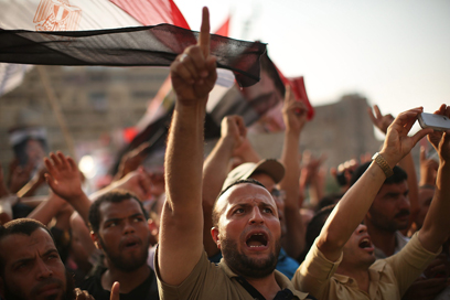 Brotherhood rally in Cairo (Photo: Getty Images)