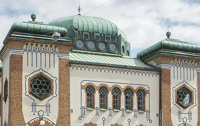 Around 2,000 Jews live in Malmo. City's synagogue (Photo: AFP)