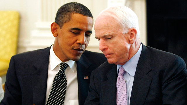 Obama, McCain (Photo: Reuters) (Photo: Reuters)