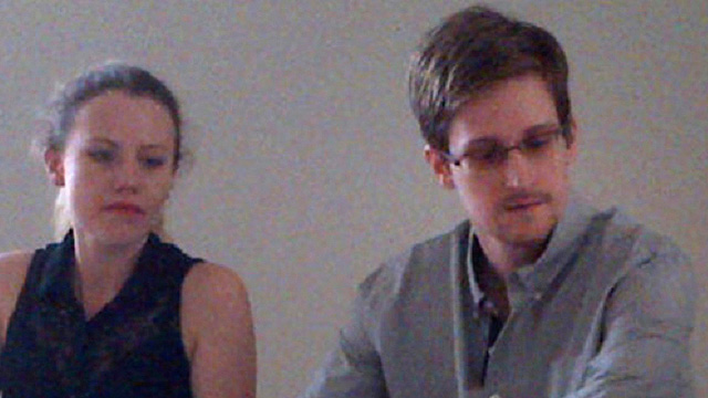 Edward Snowden in Moscow (Photo: AP)