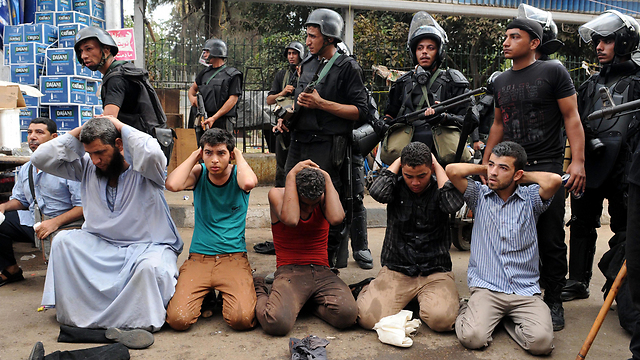Morsi supporters arrested (Photo: EPA)