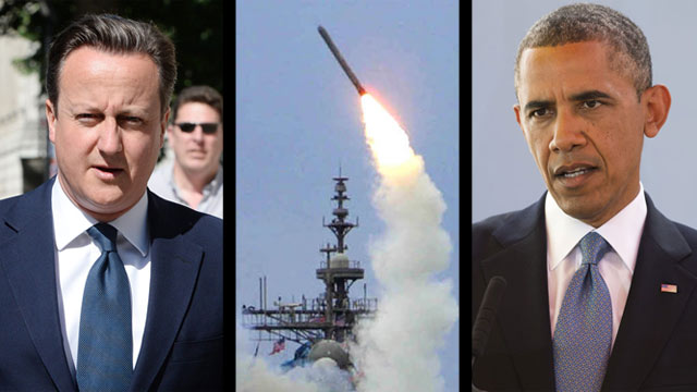 Will UK delay Obama's attack plan? Photos: AFP, MCT, EPA