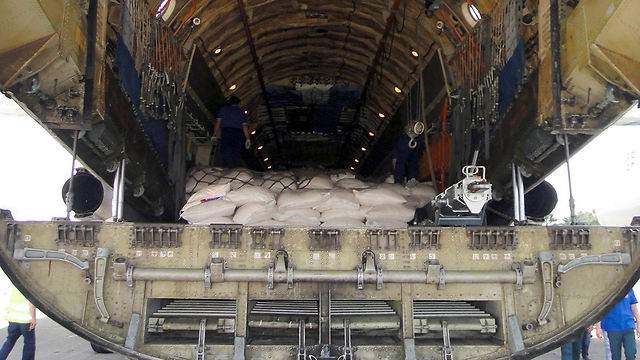 Russian cargo planes in Syria (Photo: AFP)