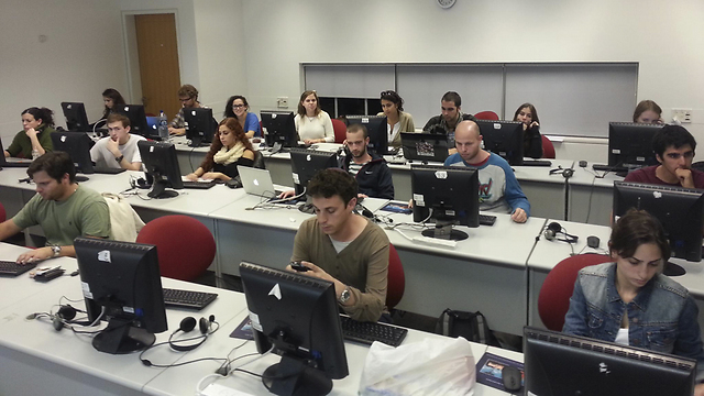 Firing online comments in 34 languages to 61 countries (Photo: Oren Kochavi)