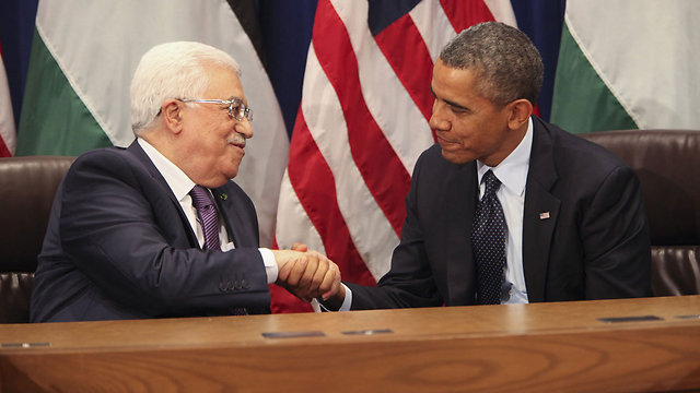 Abbas and Obama (Photo: MCT)