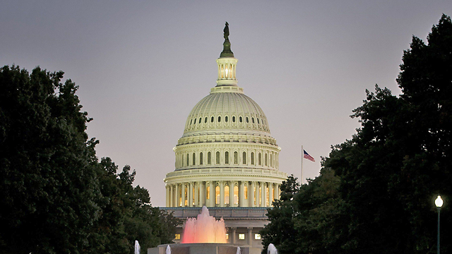 Capitol Hill. Israel can't afford to reach the next presidential election with such a clear partisan divide in Middle East sympathies (Photo: AFP)