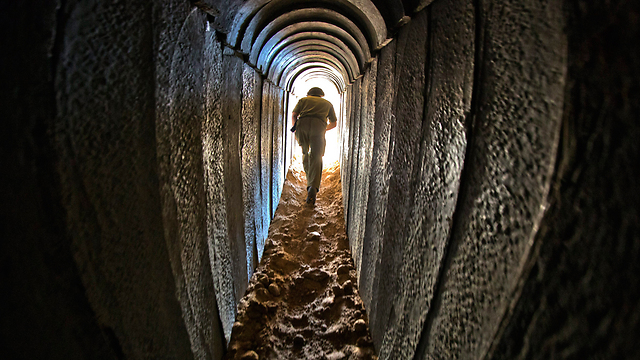 There is a dangerous illusion that a technical solution to the tunnels will solve the Gaza problem (Photo: EPA) (Photo: EPA)