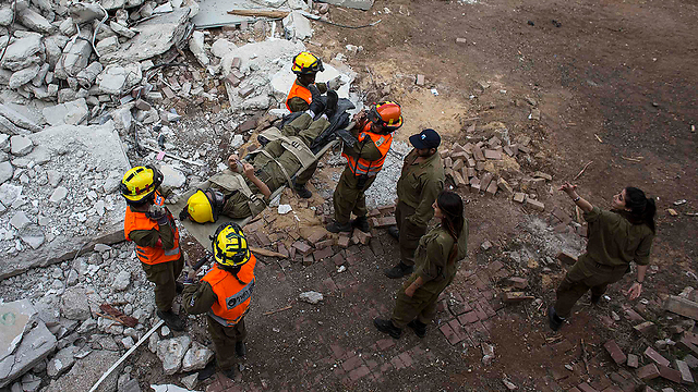 Home Front emergency drill (Photo: Reuters)