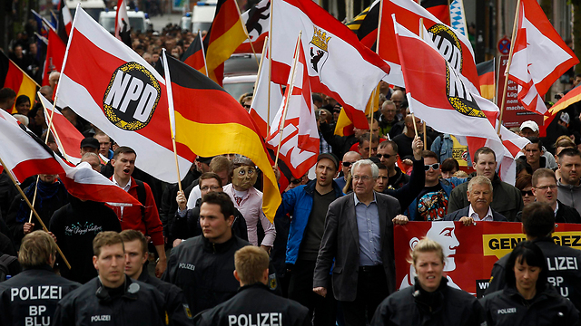 Demonstration of the German far-right NPD party (Photo: Reuters)