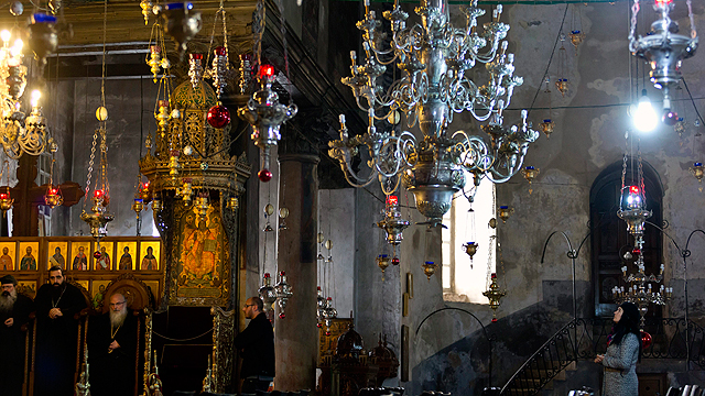 Christmas in Bethlehem, 2013 (Photo: EPA) (Photo: EPA)