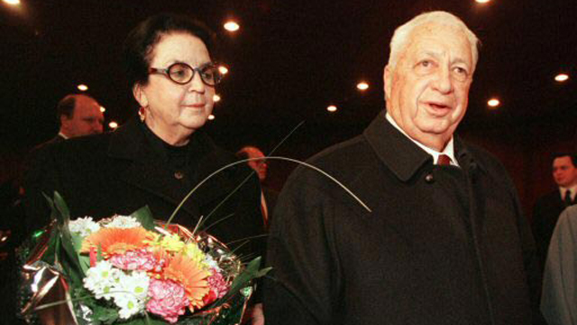 Sharon with his wife, Lily,1990 (Photo: Reuters) (Photo: Reuters)