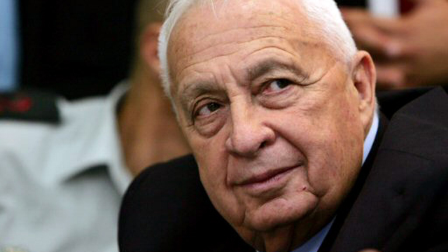Ariel Sharon at a Knesset meeting in 2005 (Photo: Reuters)  (Photo: Reuters)