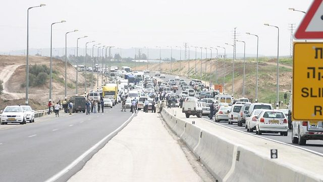 March 2006, terror attack thwarted on Route 1 (Photo: Scoop 80)