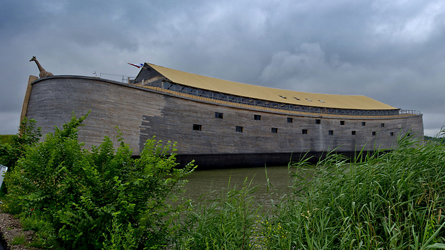 This full-size replica of Noah's Ark, built by Johan Huibers (Photo: EPA)