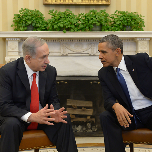 Netanyahu and Obama (Photo: Avi Ohayon) (Photo: GPO)