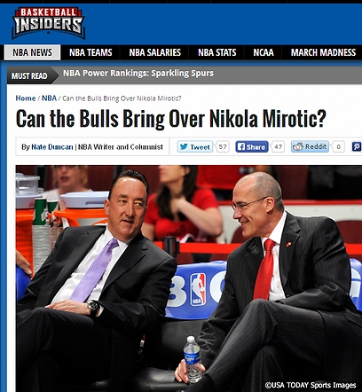 מתוך Basketball Insiders. שאלת מירוטיץ' ()