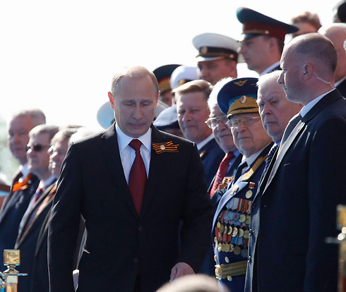 Russian President Vladimir Putin at last year's Victory Day ceremonies (Photo: Reuters) (Photo: Reuters)