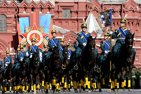 Last year's Victory Day parade in Red Square (Photo: AFP)