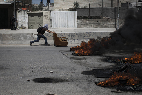Clashes in Ramallah (Photo: Gettyimages)