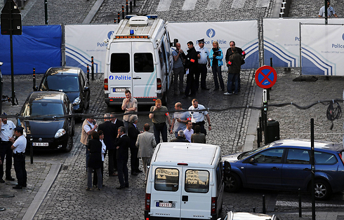 Scene of attack at Jewish Museum in Brussels on May 24, 2014. 'It is clear that the situation for the Jews of Europe hasn't been as bad since the end of the Holocaust' (Photo: Reuters)