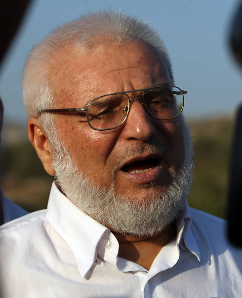 Aziz Duwaik, 66, was arrested in his home in Hebron (Photo: AFP) (Photo: AFP)