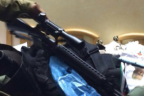 Weapons found in overnight operation (Photo: IDF Spokesman) (Photo: IDF Spokesman)
