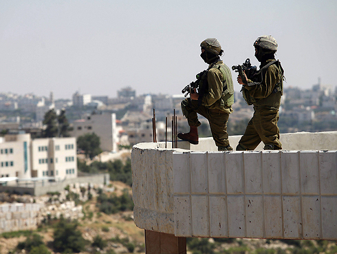 IDF forces in the West Bank (Photo: EPA) (Photo: EPA)