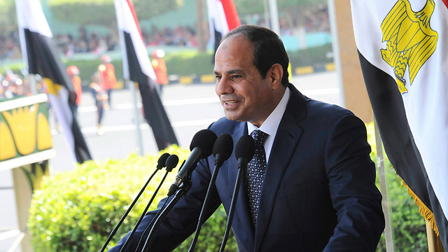 Egyptian President al-Sisi destroyed hundreds of smuggling tunnels between Gaza and Sinai (Photo: Reuters)