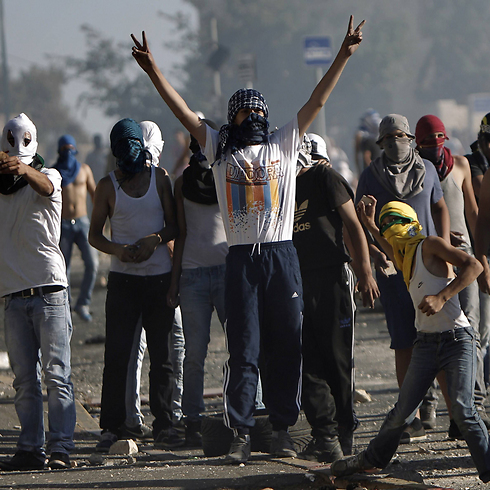 Twenty-five years of Intifada, 25 years of violent responses, 25 years of escalating violence and we are still stuck deep in Balak's trap (Photo: AFP)