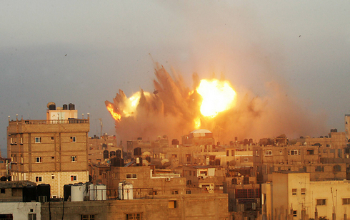 IDF attack in Rafah in the southern Gaza Strip (Photo: AFP) (Photo: AFP)