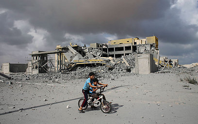 Damage caused by IDF strikes in Gaza (Photo: Reuters)