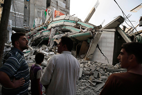 Many blame Hamas for the destruction in Gaza seen here after the IDF's Operation Protective Edge.