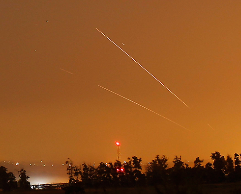 Rockets fired from Gaza into Israel (Photo: Reuters)