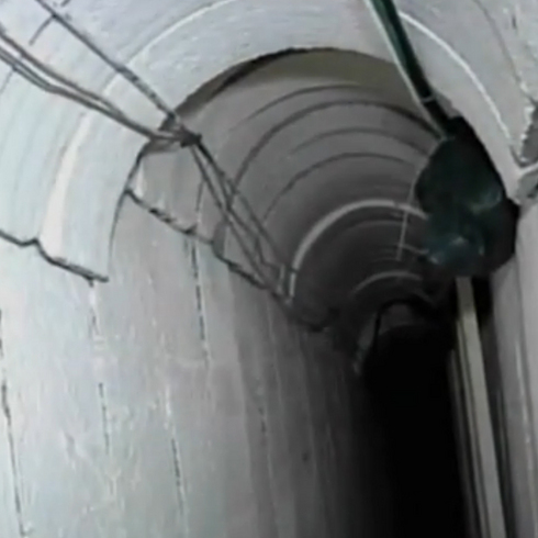 A Hamas tunnel (Photo: Reuters)